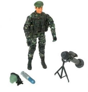 118 Elite Force Army Desert Ops Support Weapon Team Toys & Games