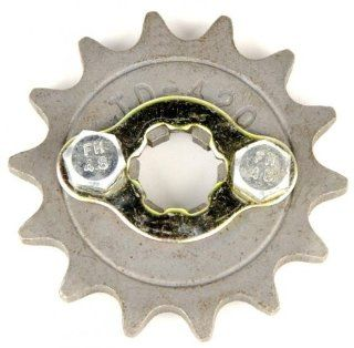 420 14 Tooth Front Sprocket for 50 110cc ATV: Automotive