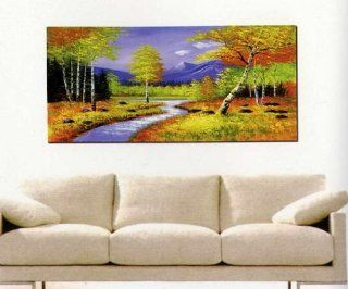 Modern Abstract Art Oil Painting STRETCHED READY TO HANG OPA422