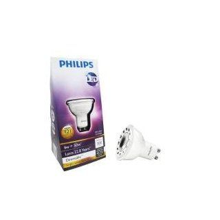 Philips 6 Watt (50W) MR16 GU10 3000K (Bright White) LED Flood Light Bulb   Led Household Light Bulbs