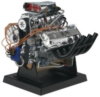 Revell Metal Body Ford 427 SOHC Drag Race Engine Toys & Games