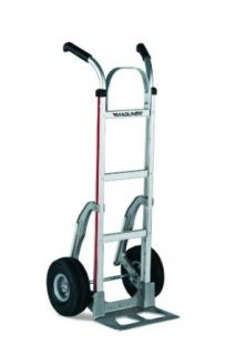 "Magliner 116 A 1060 C5 Aluminum Hand Truck   14"" Wide Noseplate & Stair Climbers: Industrial & Scientific"