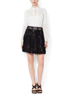 Kiernan Lace A Line Skirt by Diane von Furstenberg