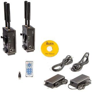 Ikan Wireless HD Transmitter and Receiver System (for V Mount) : Camcorders : Camera & Photo