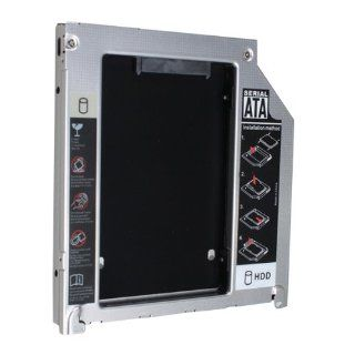 """IMAGE� 2.5""""/9.5mm SATA HDD Hard Drive Caddy Enclosure Replacement for Apple MacBook Pro (13"""",15"""", 17"""") MB470LL/A, MB471LL/A, MB604LL/A, MC026LL/A, MB990LL/A, MB991LL/A, MC118LL/A, MB985LL/A, MB986LL/A, MC226LL/A, MC371LL/A, MC372LL/A, M"""