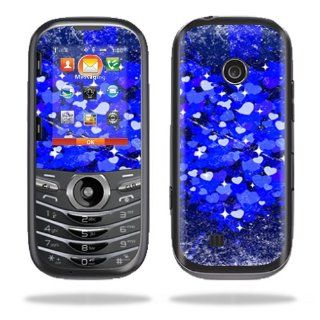 MightySkins Protective Vinyl Skin Decal Cover for LG Cosmos 3 Cell Phone Sticker Skins Hearts Explosion: Computers & Accessories