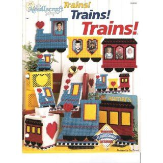 Trains! Trains! Trains! (Winning Plastic Canvas Designs, 903802): Sue Penrod: Books