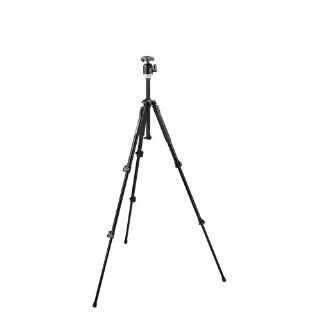 Manfrotto 190XB 3 Section Aluminum Tripod with Manfrotto 486RC2 Compact Ball Head  Camera & Photo
