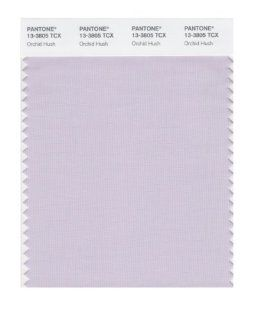 PANTONE SMART 13 3805X Color Swatch Card, Orchid Hush   Wall Decor Stickers