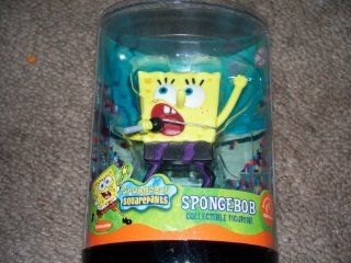 "2003 Nickelodeon Spongebob Squarepants 3"" Collectible Figure   Rock Star   By Applause: Toys & Games"