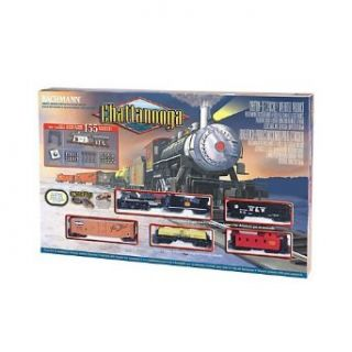 Bachmann Trains Chattanooga Ready   To   Run Ho Scale Train Set Toys & Games