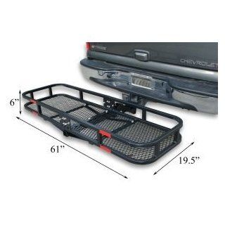 60 Inch Truck Car Cargo Basket Carrier Hitch Mount Automotive