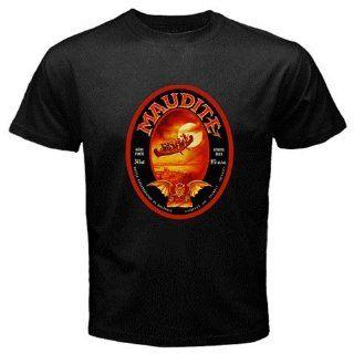"Unibroue Maudite Beer Logo New Black T shirt Size ""2XL: Everything Else"