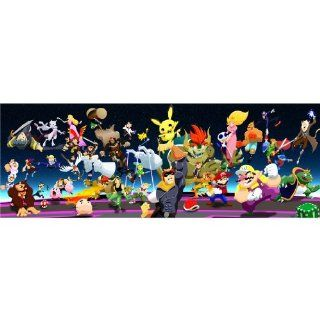 Super Smash Bros 39x14 Games ArtPrint Poster 02C   Prints