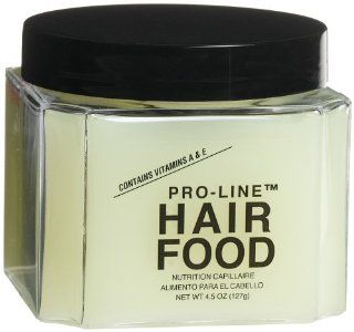 Pro Line Hair Food, 4.5 Ounce Jars (Pack of 6)  Standard Hair Conditioners  Beauty