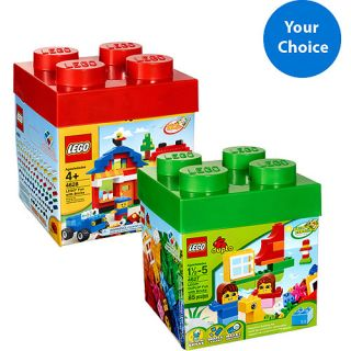 LEGO 600pc Building Kit or LEGO Duplo 85pc Building Kit   Your Choice