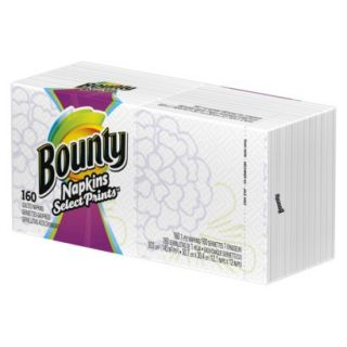 Bounty Quilted Signature Series Napkins 160 ct