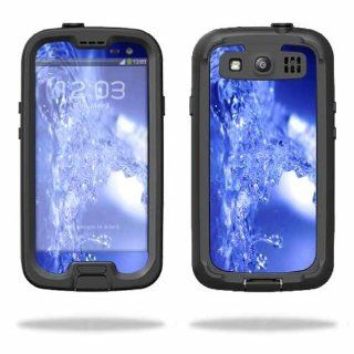 MightySkins Protective Vinyl Skin Decal Cover for LifeProof Samsung Galaxy S III S3 Case fre Sticker Skins Water Explosion: Cell Phones & Accessories