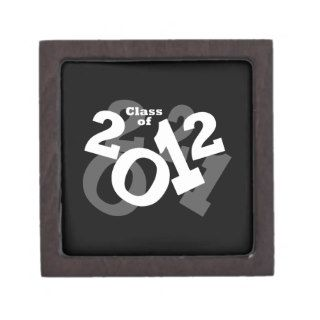 Playful Numbers, Class of 2012 Graduation Design Premium Keepsake Box