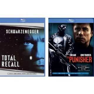 Punisher/Total Recall Blu Ray   2 Pack