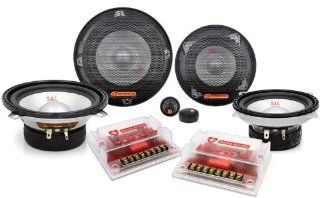 """SAC 525   Swiss Audio 3 Way 5.25"""" + 4"""" Component System  Component Vehicle Speaker Systems"""
