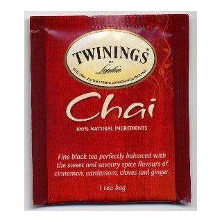 Twinings� of London Chai Tea (Box of 20)  Grocery Tea Sampler  Grocery & Gourmet Food