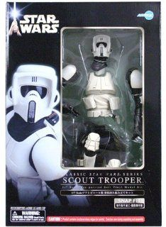 Star Wars Scout Trooper Pre Painted Soft Vinyl Model Kit 1/7 Scale Toys & Games