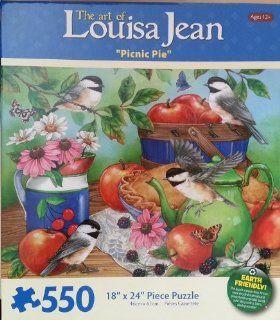 "The Art of Louisa Jean ""Picnic Pie"" 550 Piece Puzzle"