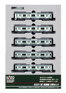 Kato 10 553 Series E231 Joban Line 5 Car Set, Powered: Toys & Games