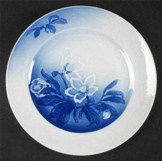 Bing & Grondahl Christmas Rose Dinner Plate, Fine China Dinnerware   White Flowe