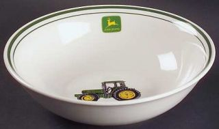Gibson Designs John Deere (Tractor) 9 Round Vegetable Bowl, Fine China Dinnerwa