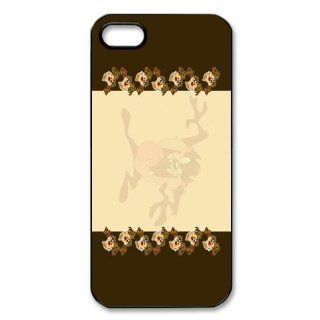Mystic Zone Taz iPhone 5 Case for iPhone 5 Cover Cartoon Fits Case WSQ0803: Cell Phones & Accessories