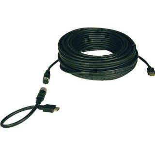 Tripp Lite P568 100 EZ Easy Pull HDMI Monitor Cable w/ Connectors   100ft Electronics