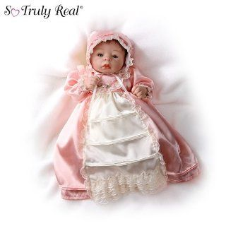 Shelia Michaels Beloved Beatrice Vinyl Lifelike Collectible Baby Doll by Ashton Drake: Toys & Games