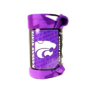 Ksu Plush Fleece Blanket   Sports Fan Throw Blankets