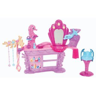 Barbie The Pearl Princess Mermaid Salon Playset Toys & Games