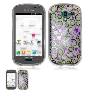 Samsung Galaxy Exhibit T599 Lilies Flexible Gel Skin TPU Design Case: Cell Phones & Accessories