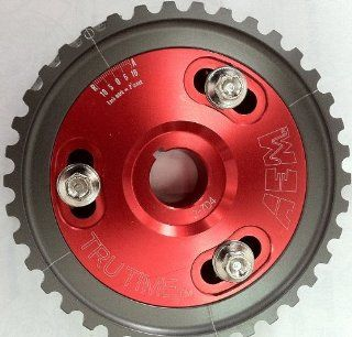 Aem 23 604R Red (Advanced Engine Management) Tru Time Adjustable Cam Gear Pulley Automotive