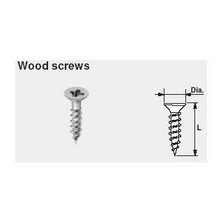 Blum   BL   606N 100   Wood Screws   Box of 100 screws