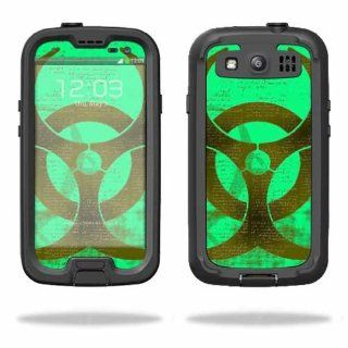 MightySkins Protective Vinyl Skin Decal Cover for LifeProof Samsung Galaxy S III S3 Case fre Sticker Skins Biohazard: Cell Phones & Accessories