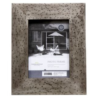 Threshold™ Rustic Wood Frame   Silver 8x10