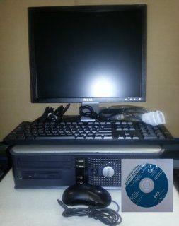 Dell Optiplex GX620 17 Inch Flat Panel LCD Monitor Desktop Computer (Intel Pentium 4 2800 Mhz, 1024 MB ram, 40 GB Serial ATA HDD, Windows XP Professional) : Computers & Accessories
