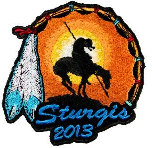 End of Trail Sturgis Bike Rally 2013 Iron or Sew on embroidered Biker Patch D43