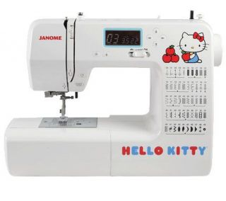 Janome Hello Kitty 18750 Computerized Sewing Machine —