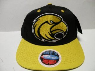 NCAA Southern Mississippi Golden Eagles Logo Black 2 Tone Snapback Cap : Baseball Batting Helmets : Sports & Outdoors