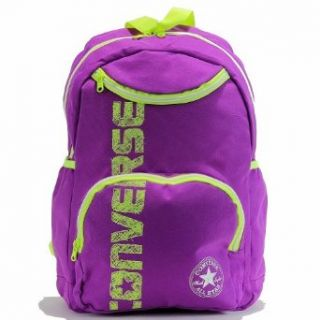 """Converse Girl's 4A5133 Backpack 15"""" School Bag (Purple Cactus): Clothing"""