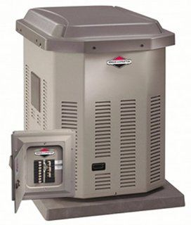 Briggs & Stratton 10, 000 Watt Bi Fuel Automatic Standby Generator with 50 Amp Transfer Switch 40200 (Discontinued by Manufacturer) : Standby Power Generators : Patio, Lawn & Garden