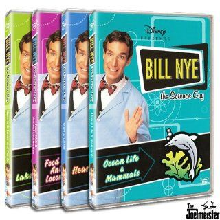 Bill Nye the Science Guy Collection Three (Deserts & Lakes and Ponds, Food Web & Animal Locomotion, Heart & Genes, Ocean Life & Mammals): Movies & TV