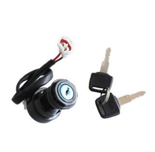 Ignition Key Switch for Yamaha Yfm660 Raptor Atv 2001 2002 2003 2004 2005 2 Pin Plug New Automotive
