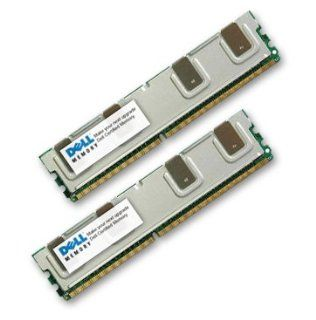 DELL CERTIFIED 8GB KIT ( 2 X 4GB ) RAM Memory for Poweredge 2950 ( DDR2 667MHz ) Fully Buffered Upgrade: Computers & Accessories